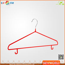 Newworld High Quality Wire Hangers Clothes Hanger With Hook