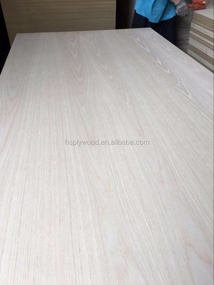 17mm natural red oak veneer MDF/laminated mdf kitchen panel