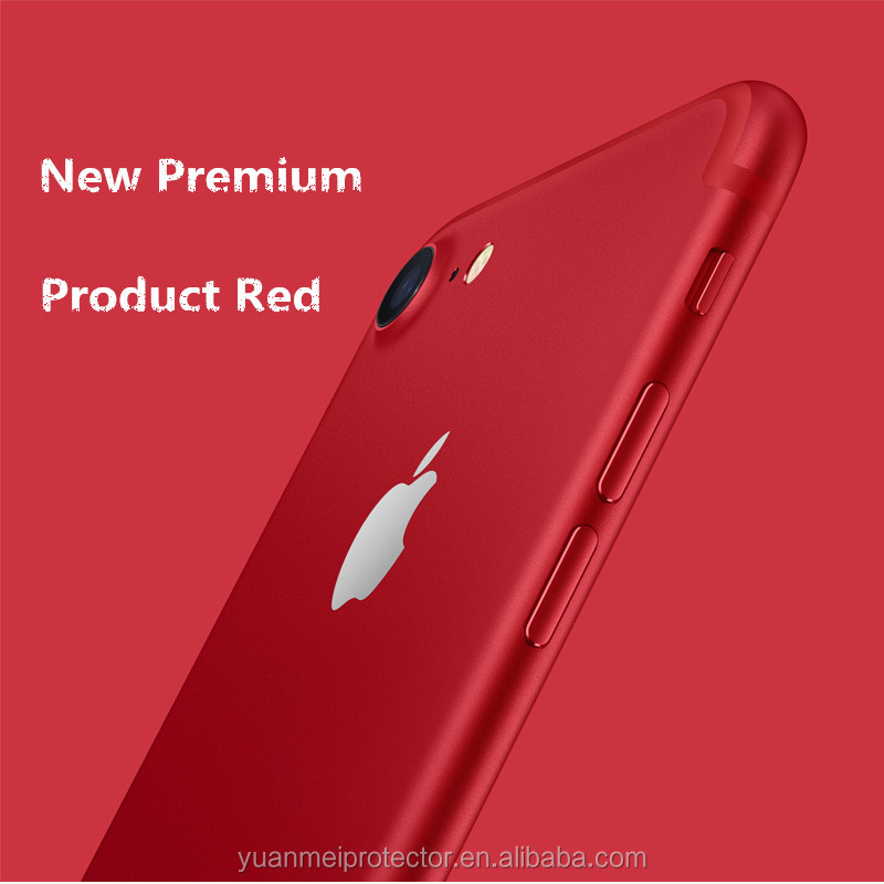 New Arrival Product Red 3D Full Cover Tempered Glass Screen Protector for Phone 6/7