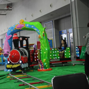 amusement park rides outdoor equipment Electric trackless tourist train manufacturer