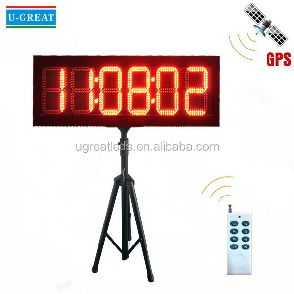 8inch LED Clock Display / LED Countdown Clock with Tripod Stand