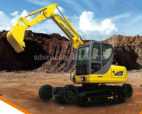unique walking excavator for sale in shandong