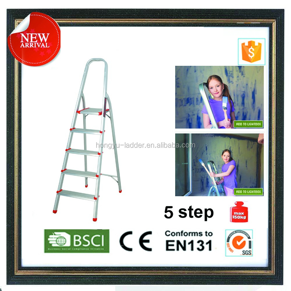 Step folding Ladder 5 Tread CHEAPEST AROUND/galvanized steel ladder