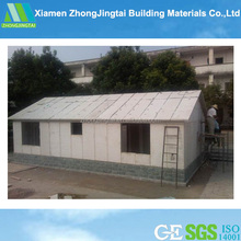 ZJT China building supplies, Cheap prefab steel structure flat pack homes/portable homes /mini mobile homes