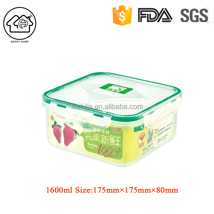 Oem custom large capacity box airtight food storage container