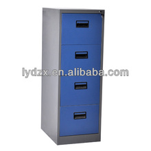 Office steel vertical filing cabinet for A4 letter