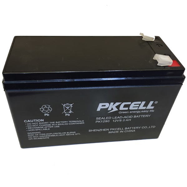12V 9Ah Rechargeable UPS Battery wisdom 6 dzm 20 e bike/scooter/e moto agm lead acid battery