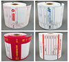 bottle label printing products thermal movie tickets rolls in print