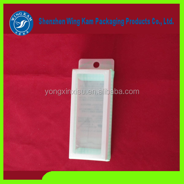 European Type Accept Custom Order high credibility long history plastic folding clear box