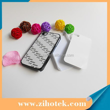 2D PC sublimation blank mobile phone cover case for iphone 4/4s