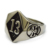 Titanium skull silver mold gold number 13 cheap biker jewelry stainless steel biker ring for fashion