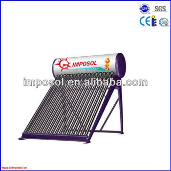 CE ISO approved high quality Solar Water Heaters in solar energy