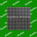 P7.62 matrix Double color Indoor LED Module for led sign