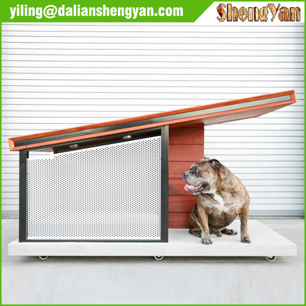 Cheap China Unique Outdoor Decorative Prefab Wooden Big Dog House