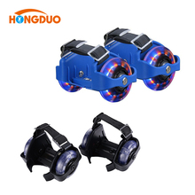 Flashing Two wheels Lighting Roller Skate Hot Wheels,outdoor roller skates