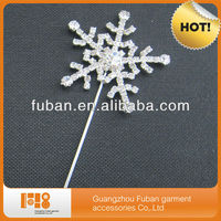 rhinestone snowflake shaped cake tools,cake toppers for wedding decorations