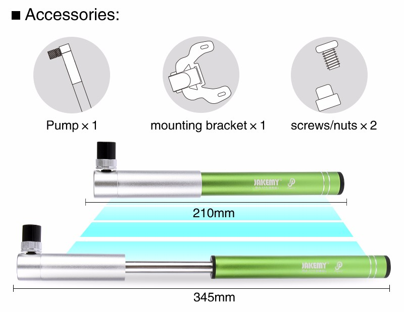 Factory sale precision cnc machining bike pump hand bicycle pump