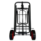 Easy Folding Hand Pudh Cart For Kids, Used Hotel Luggage Carts