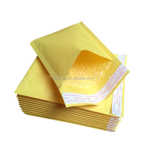Gold Kraft Paper Bubble Padded Mailers Shipping Mailings Envelopes
