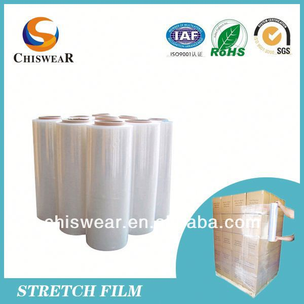 Wrap Pallet and Good Stretch Film Recycling