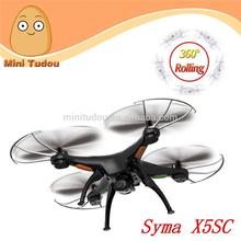 Hot sale!SYMA New Arrive Upgrade headless rc quadcopter middle drone syma X5SC with HD camera