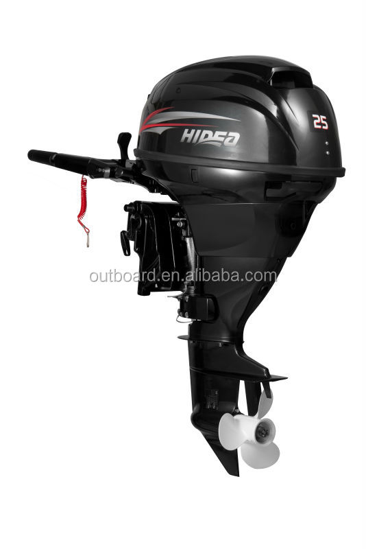 EPA approved 4 stroke 25hp outboard motor with remote control