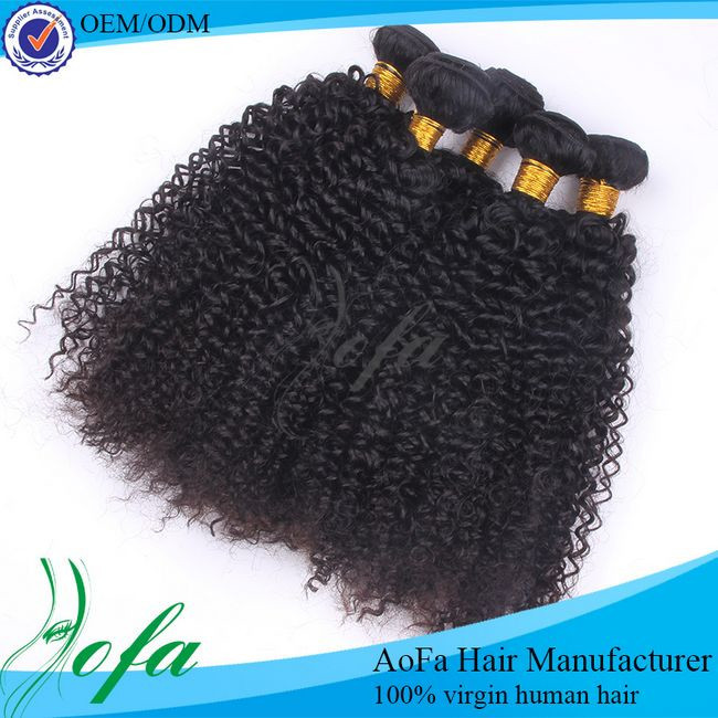 Kinky curly hair peruvian human origin with reasonable price wholesale supply