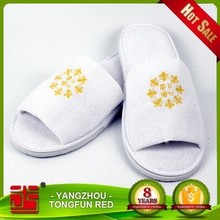 Five star indoor room guest luxury soft hotel slipper