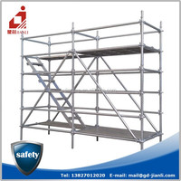 Wedge lock scaffolding accessories for construction