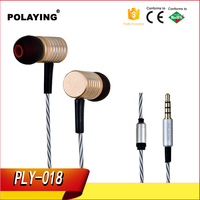 High Quality Metal Sport Earbuds With