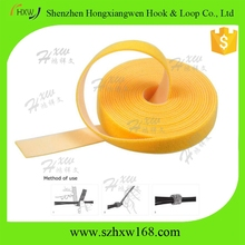 custom 10mm*3m double sided hook and loop strap