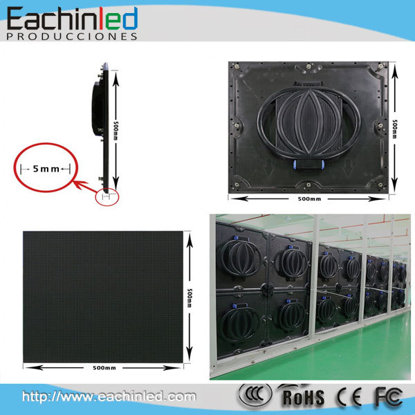 Super Slim LED Carbon Fiber Cabinet P3.9 Stage LED Screen