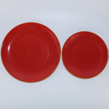 Square plate stock oval modern tableware