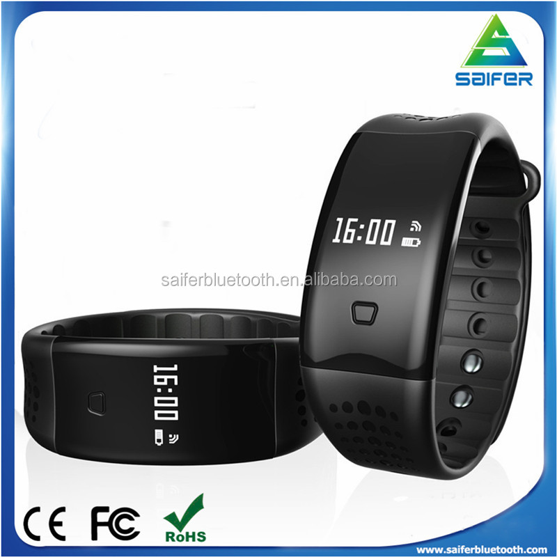 2017 patent design W2S IP67 waterproof heart rate,blood oxygen bluetooth smart fit bit fitness tracker wristband for gifts