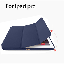 Hot sales high quality leather case for ipad pro back cover for ipad pro