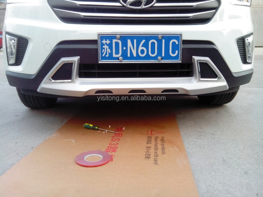 2014-2016 HYUNDAI IX25/Creta ABS Plastic front and rear bumper guard skid plate auto car parts body kits