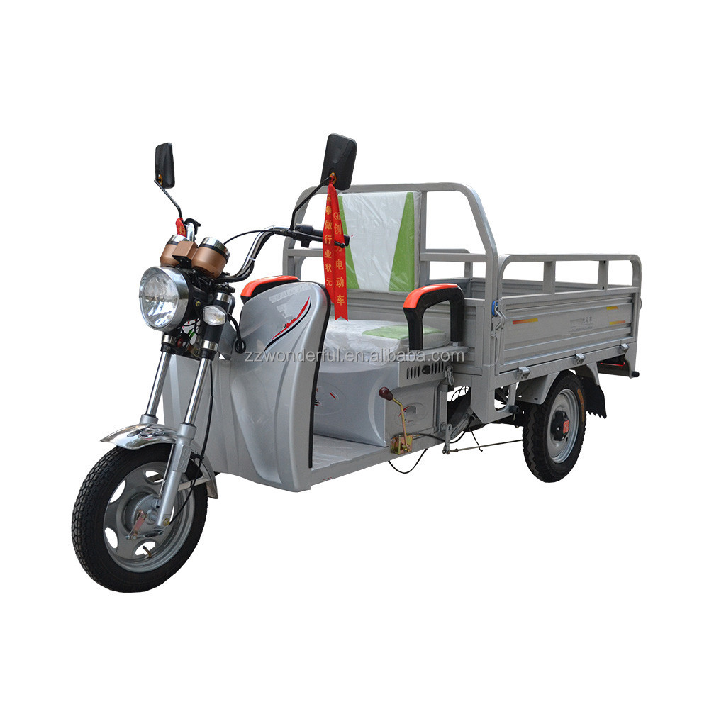 Large loading capacity Electric Powered Industrial used Worksman Tricycle For Sale/Meridian Trike