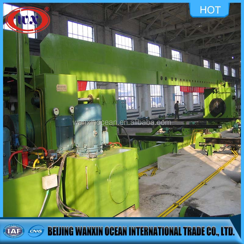 Sprial welded pipe tube making machine mill line