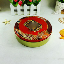 Factory Price Metal Tin Can Mooncake Packaging Box