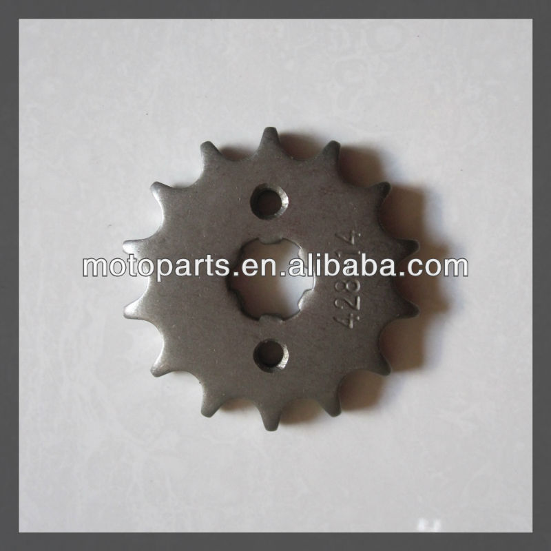 Motorcycle rear Sprocket Wheel/chains/ motorcycle roller chains and sprockets