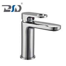 Luxury Bathroom Tap Mixer Round Shape Single Handle Hole Sink Basin Wash Faucet
