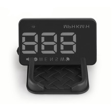 car hud head up display for car Projected Through Your Windshield with Speeding Warning, Plug & Play, Compass, Speedometer