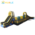 15m Outdoor sport game adult inflatable obstacle course,toxic inflatable interactive obstacle for adult