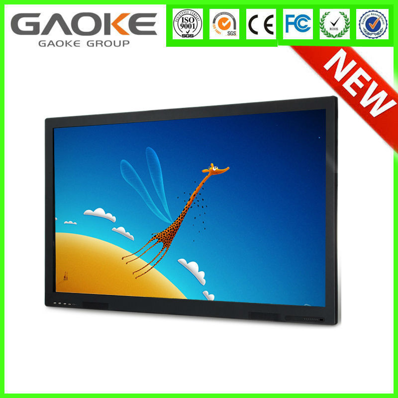Large screen LED Interactive board touch panel usb touch screen panel 84 inch Multi Touch IR Interactive Electronic White board