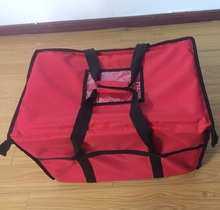 Wholesale OEM Zipper Custom 600D Oxford Cheap Food Delivery Cooler Bag
