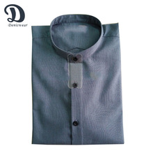Mens short sleeves stand collar shirt new style