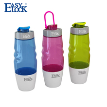 Cheap Plain Clean Plastic Sports Water Bottles with Lids