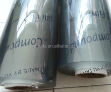 SOFT SUPER CLEAR PVC STRETCH FILM PVC TRANSPARENT FILM PLASTIC COVER SHEET FOR PACKING AND BAGS