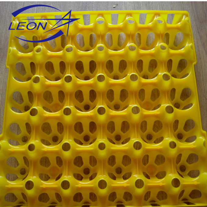 Leon 2016 new designs hot sell 30-cell plastic colorful egg tray/box