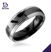 Stainless steel fashion new design turkish rings for men